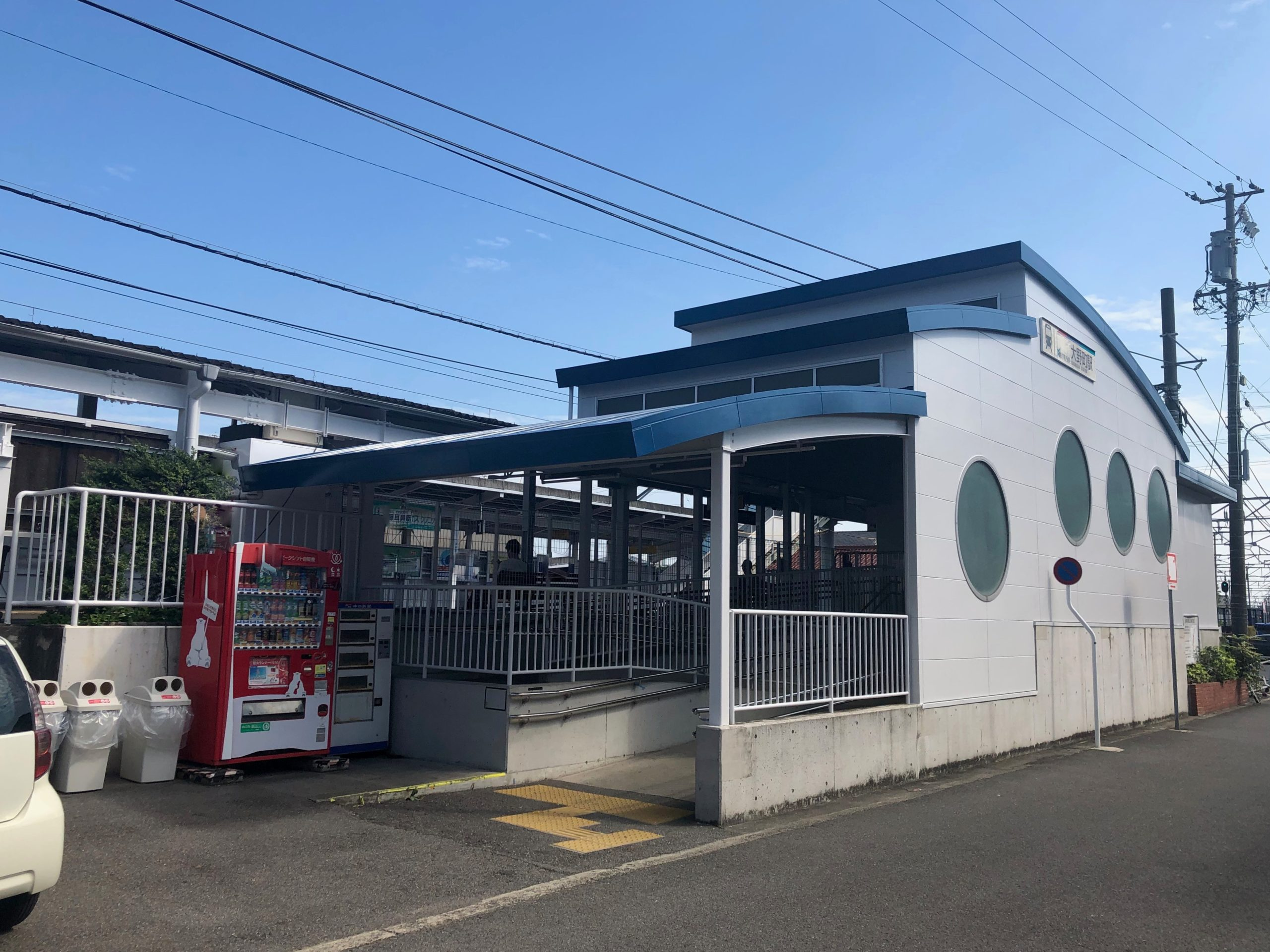 ・名鉄常滑線 大野駅